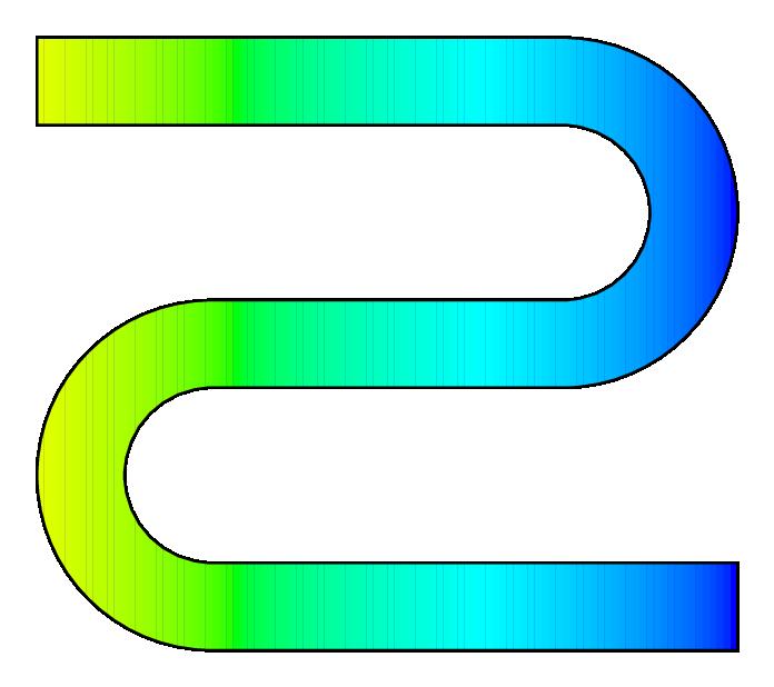 Number 1 clipart number 0. Pstricks color gradient filling