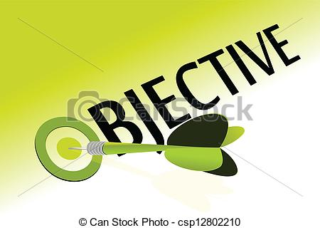 4 clipart object. Aim and objective station