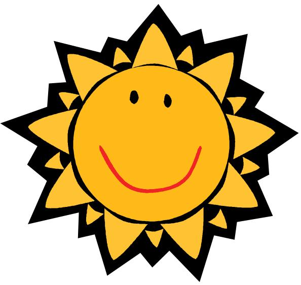Hot objects station . Sunny clipart object
