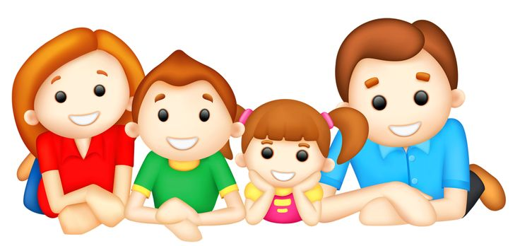 Son clipart daughter. Family people daughters station