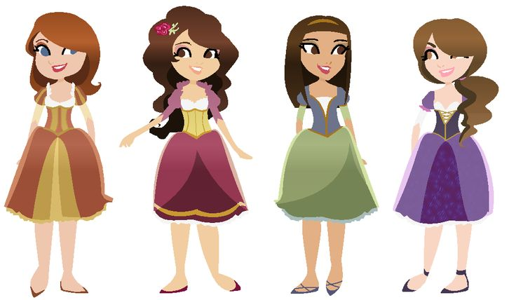 4 clipart sibling.  best four sisters