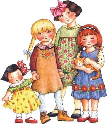 best four sisters. 4 clipart sibling