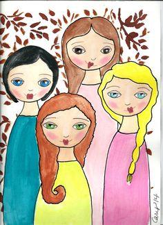 Strong women x art. 4 clipart sibling