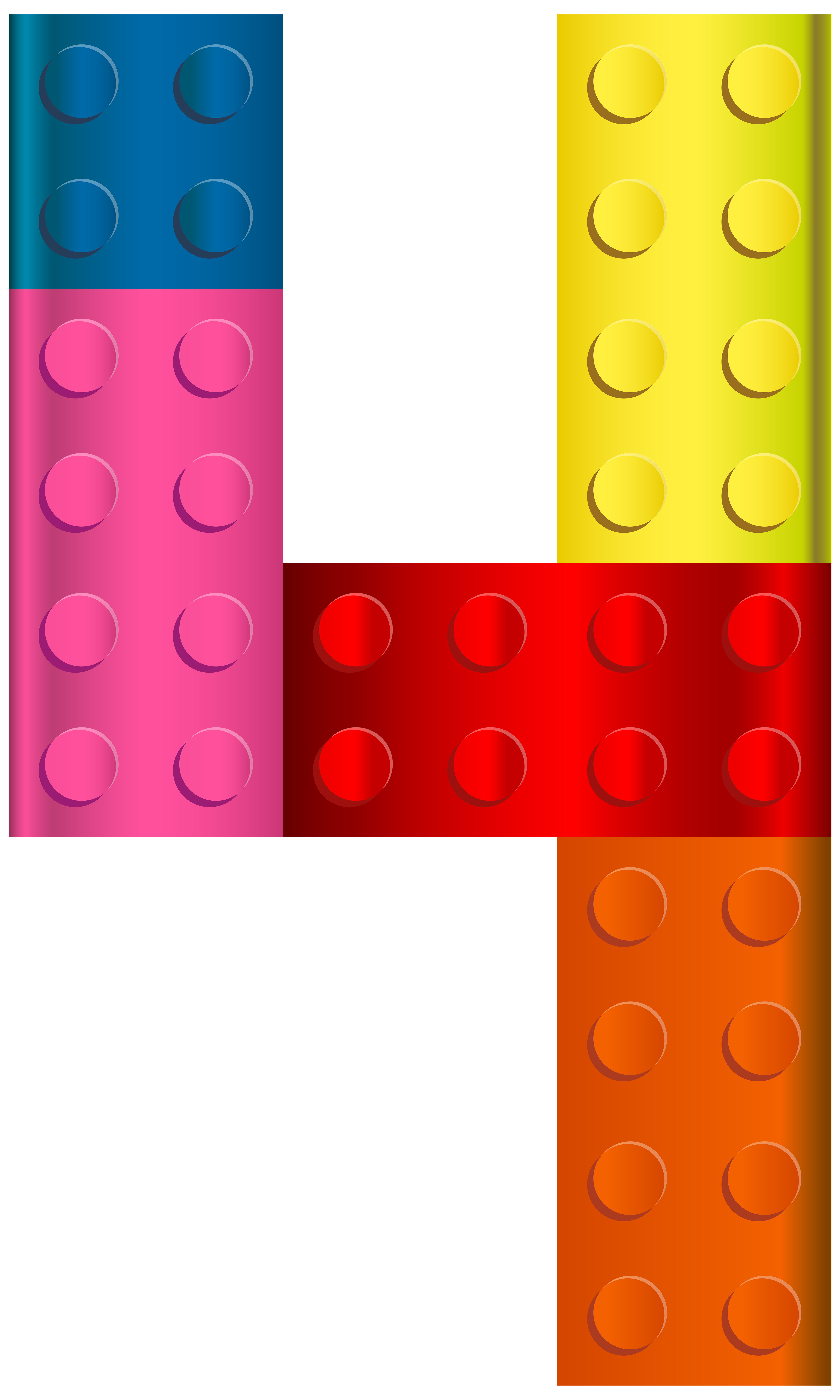 4 clipart transparent. Lego number four png