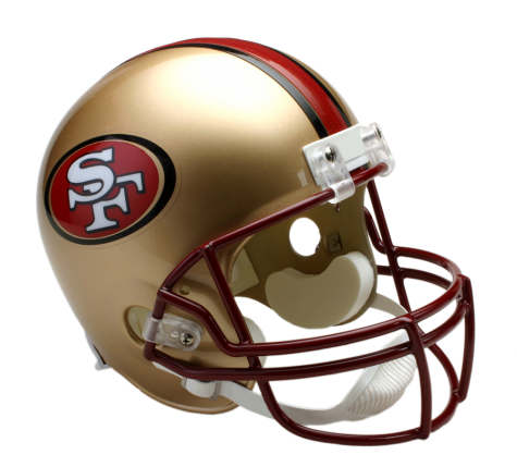 49ers helmet png. San francisco ers vsr