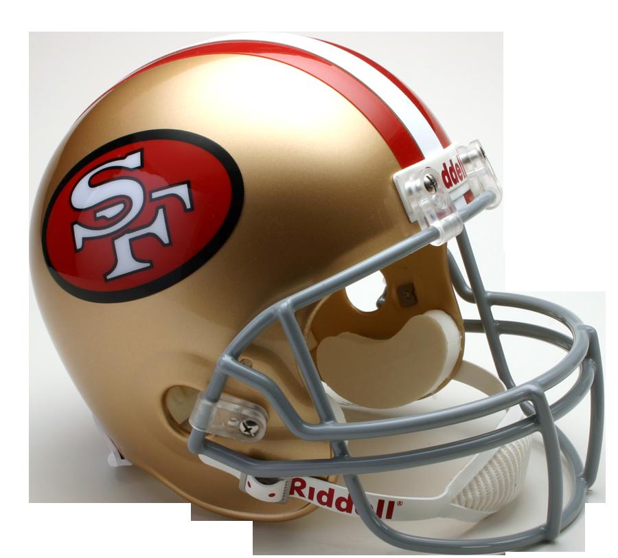 ers san francisco. 49ers helmet png