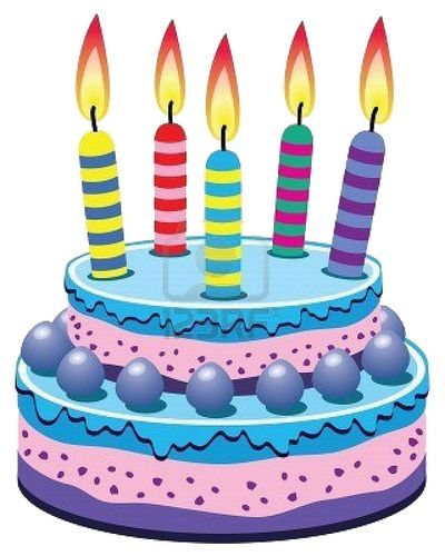 5 clipart 5 candle. Aniversario del blog ya