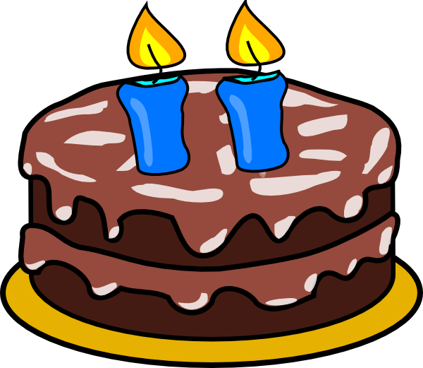 5 clipart 5 candle. Cake with candles clip