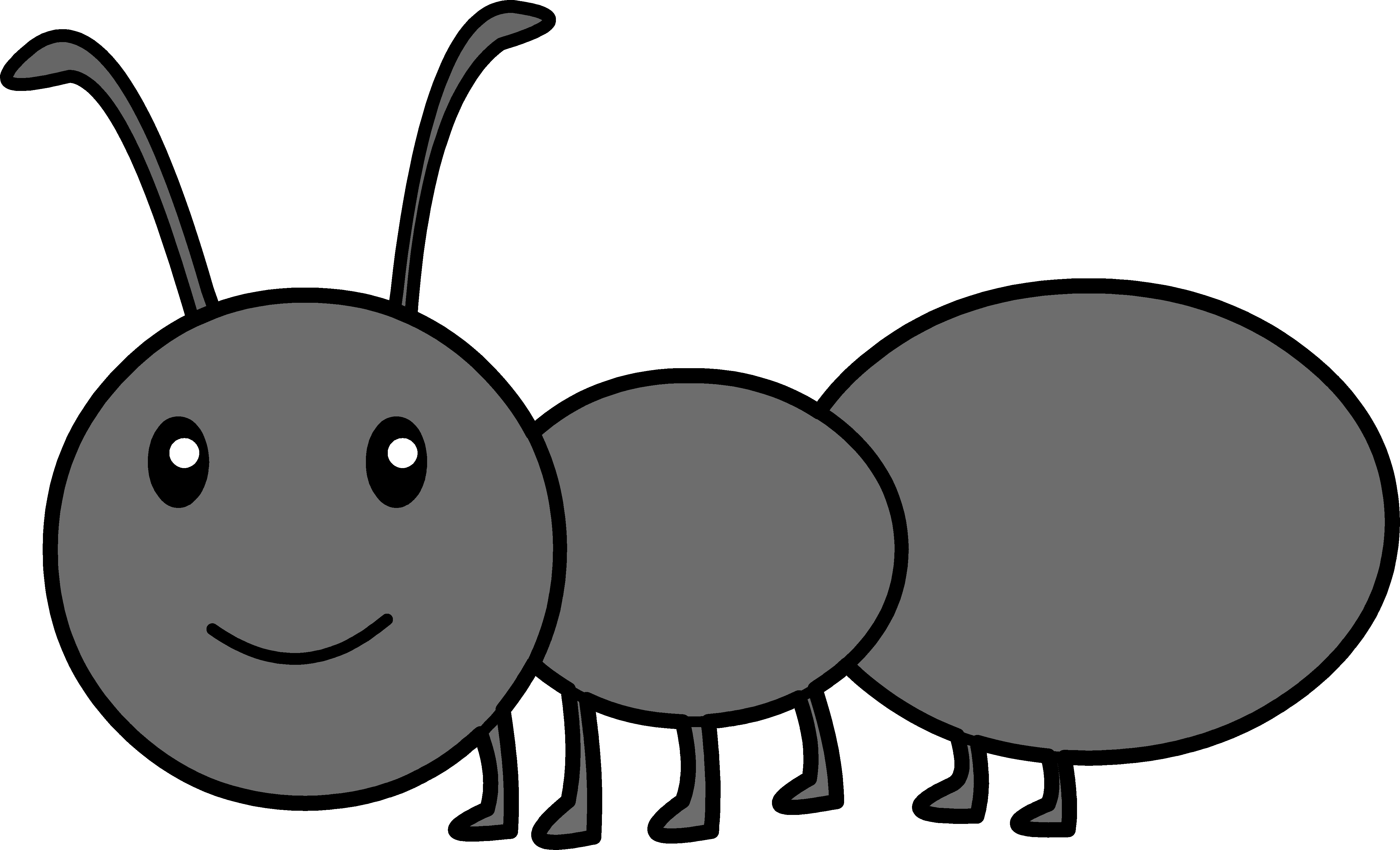 New design digital collection. 5 clipart ant