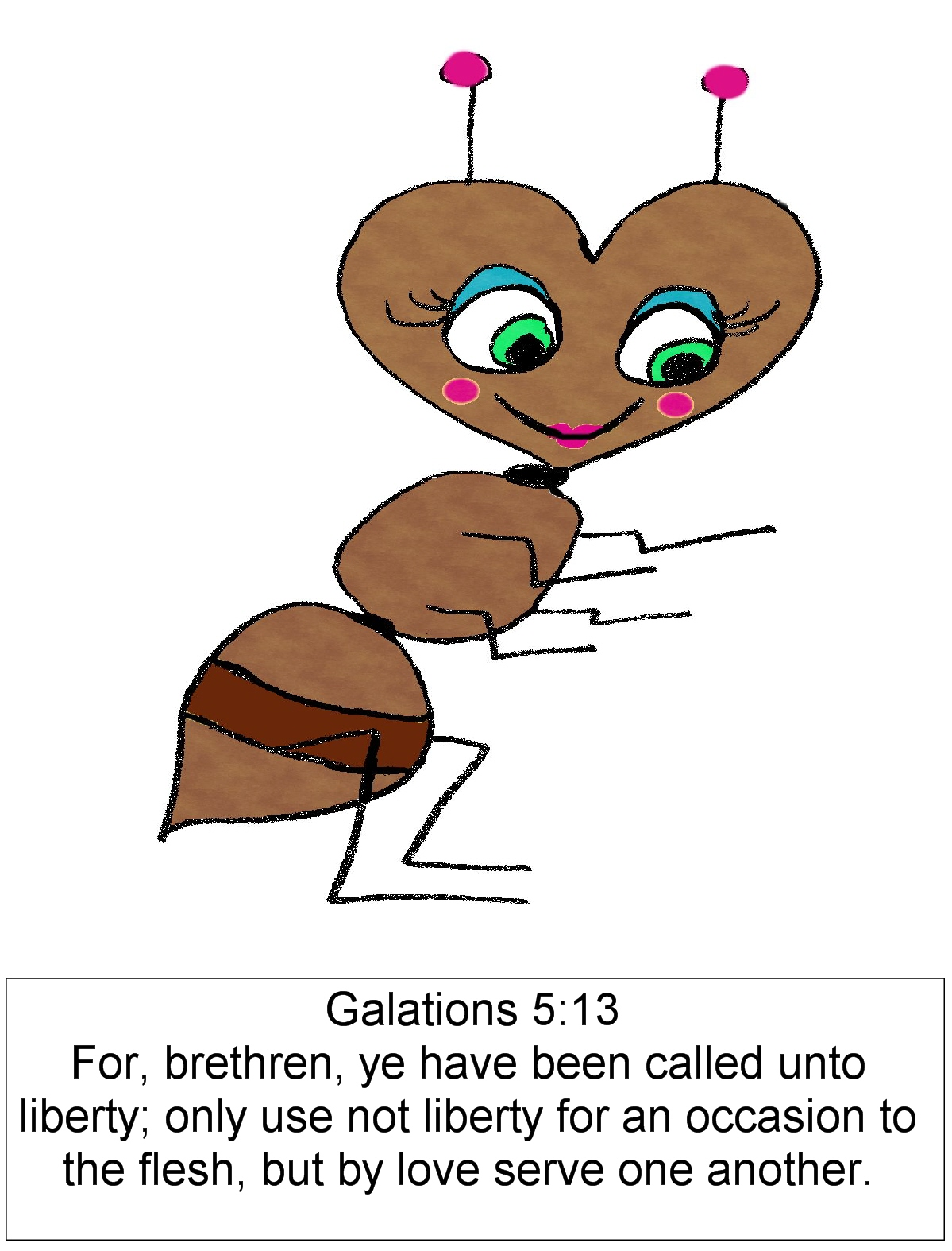Christian images in my. 5 clipart ant