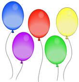 5 clipart balloon. Graphics of fun fair