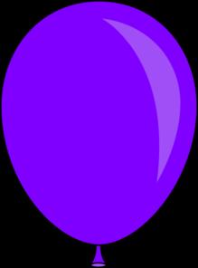 New clip art at. Clipart balloon purple