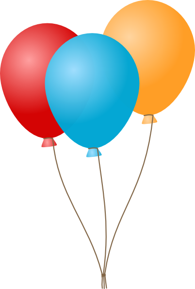 Notes on a theory. 5 clipart balloon