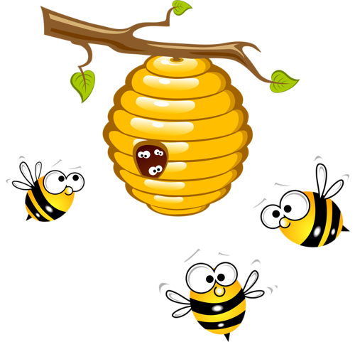 5 clipart bee.  png pictures pinterest