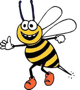5 clipart bee. Bumble clip art free