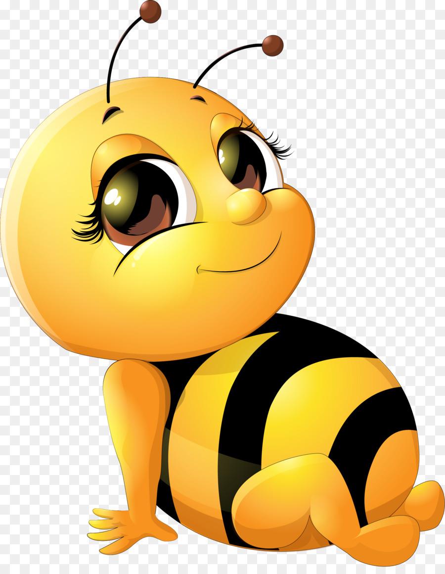 5 clipart bee. Cartoon infant clip art