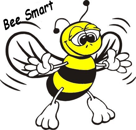 Spelling station . 5 clipart bee