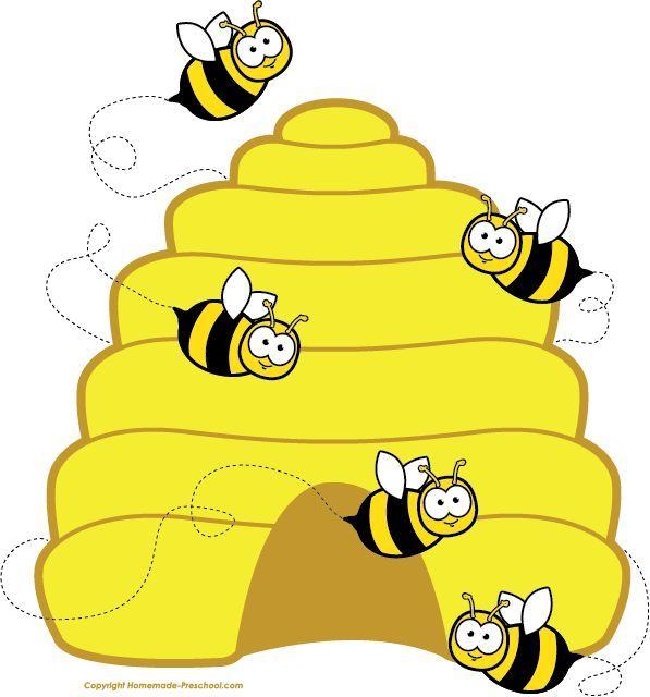 5 clipart bee. Honey image cartoon flying