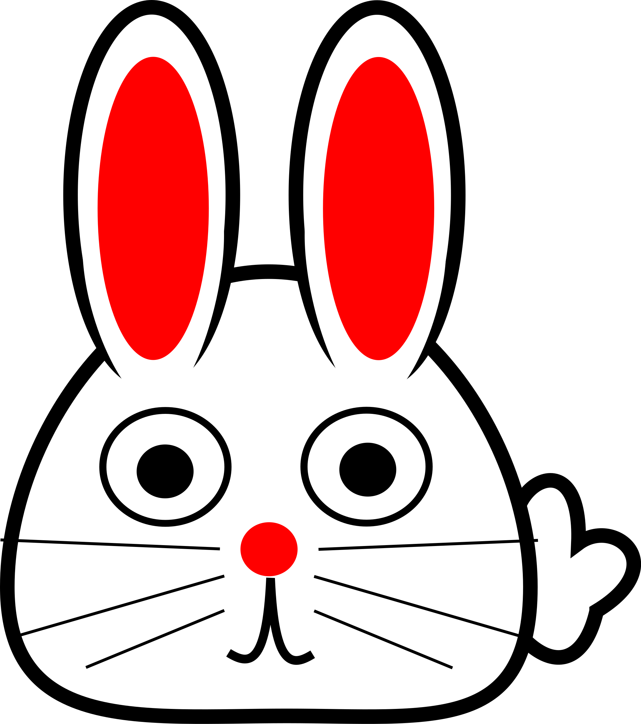 Clipart bunny head. Spring big image png