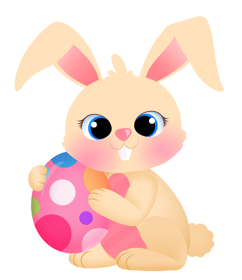 Free easter pages of. 5 clipart bunny