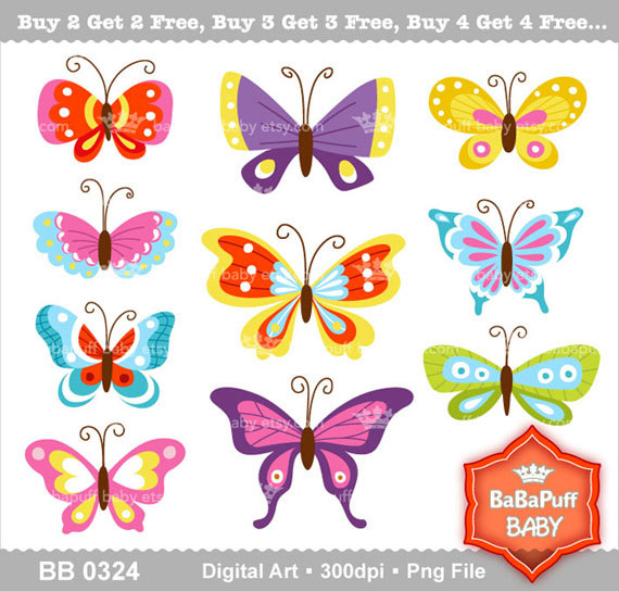 clip art personal. 5 clipart butterfly