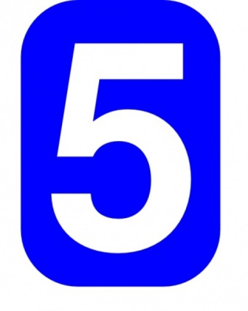 Numbers . 5 clipart clip art