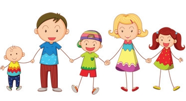 5 clipart family. Free of cliparts download