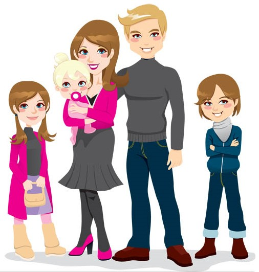 5 clipart family member. Free of cliparts download