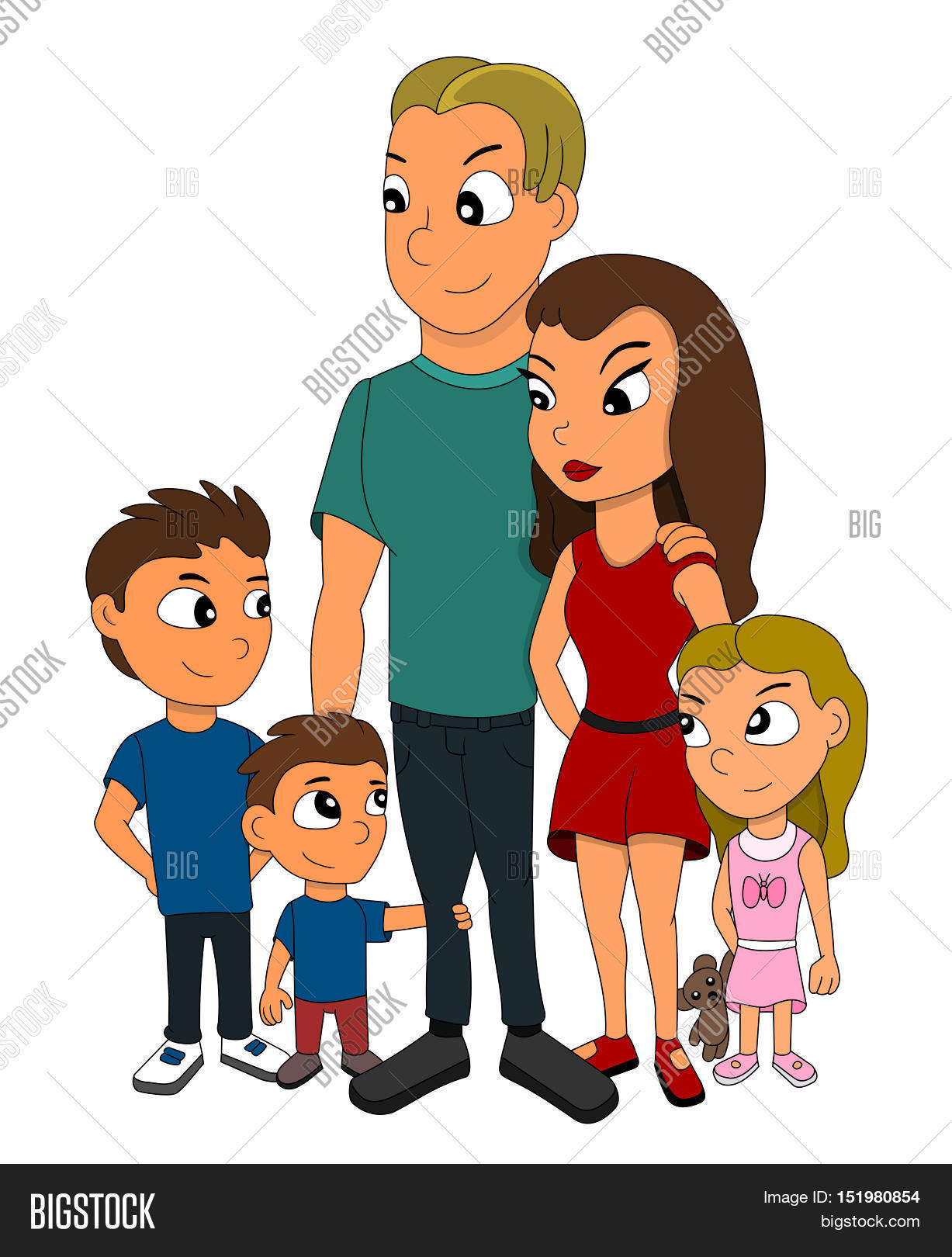 5 clipart family member.  clipartuse members