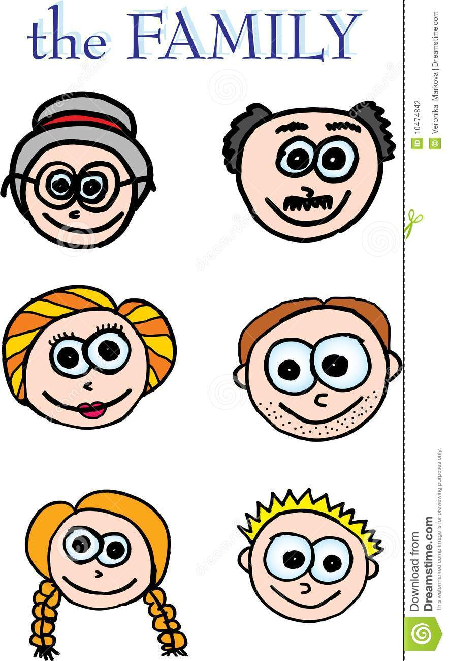 5 clipart family member. Members on white panda
