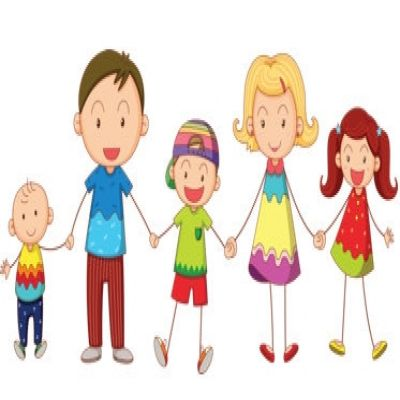 5 clipart family member.  collection of members