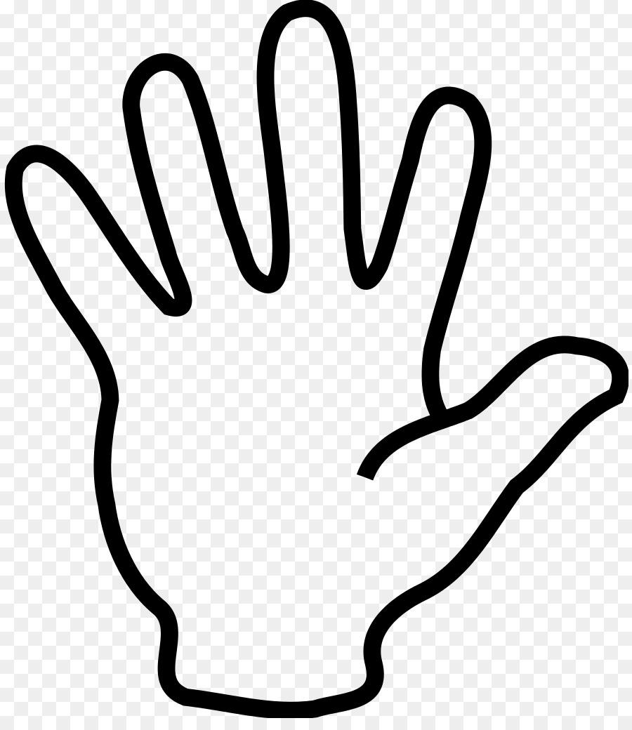 5 clipart finger. Middle hand face transparent