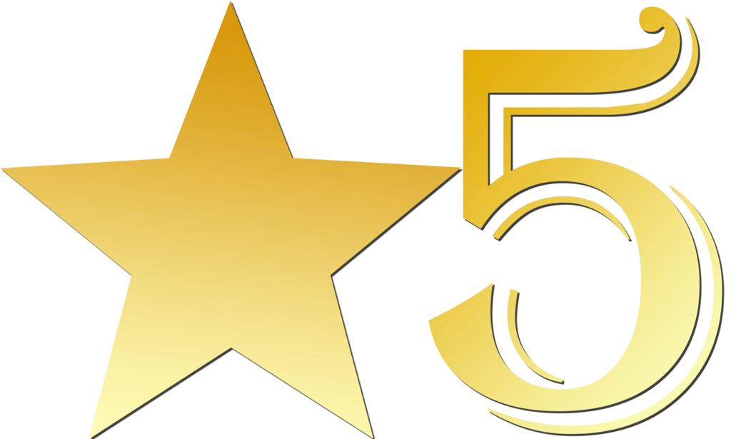 5 clipart gold. Star marbridge goldstarclipart