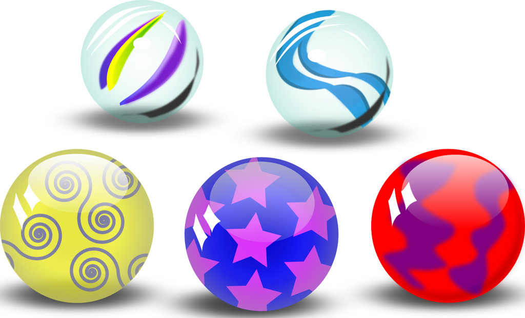 5 clipart marble. Marbles group cookieater flickr