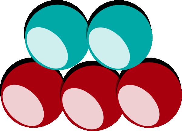 5 clipart marble.  balls colors clip