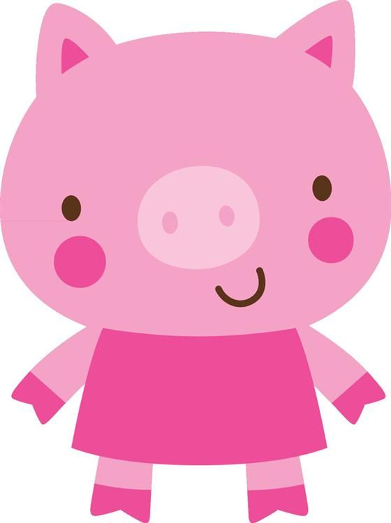 Create a critter crafts. 5 clipart pig