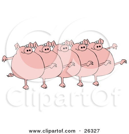 5 clipart pig.  pigs