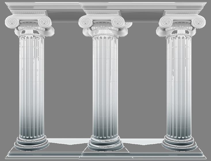 Column clipart stone pillar.  pillars to social