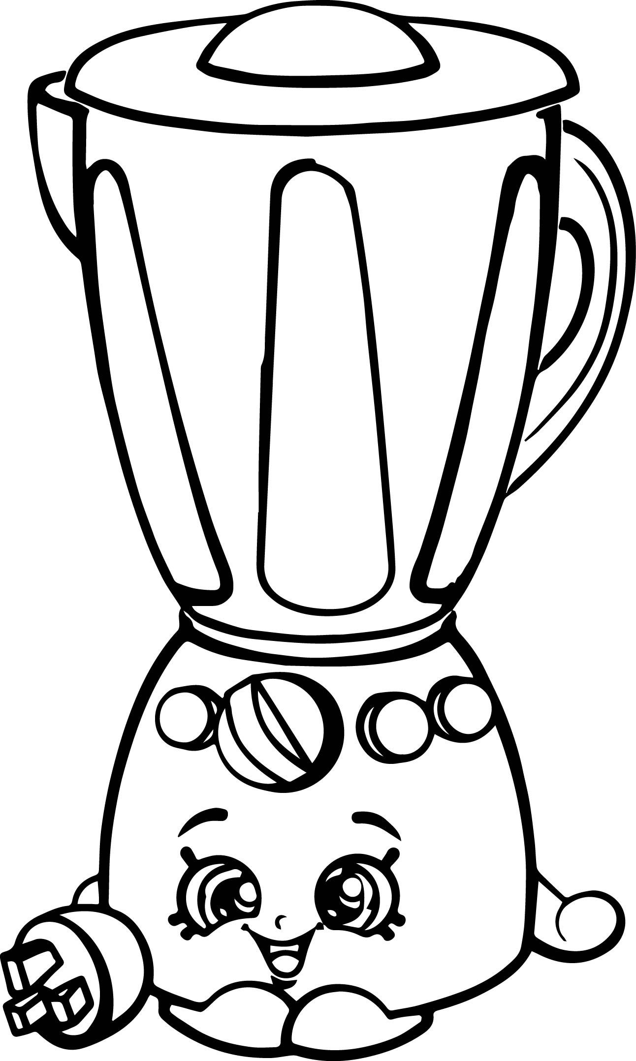 5 clipart printable. Shopkins coloring pages