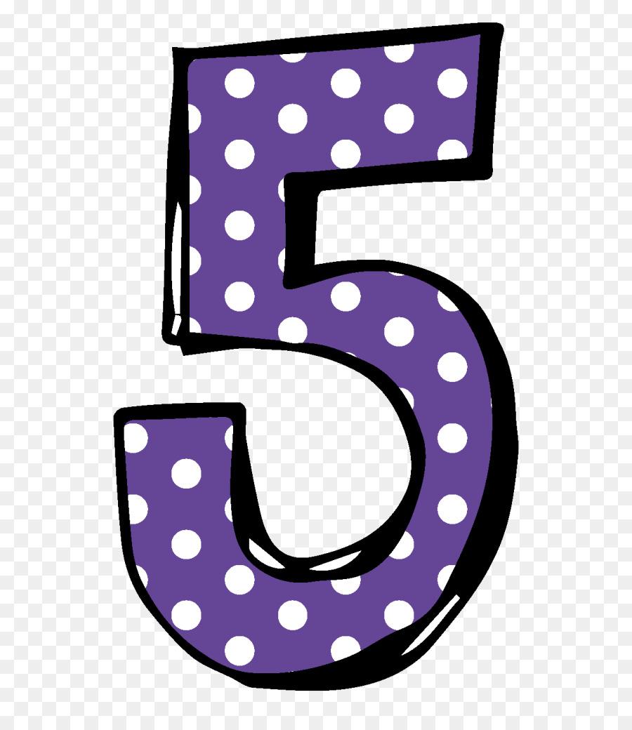 Dot background illustration number. 5 clipart purple