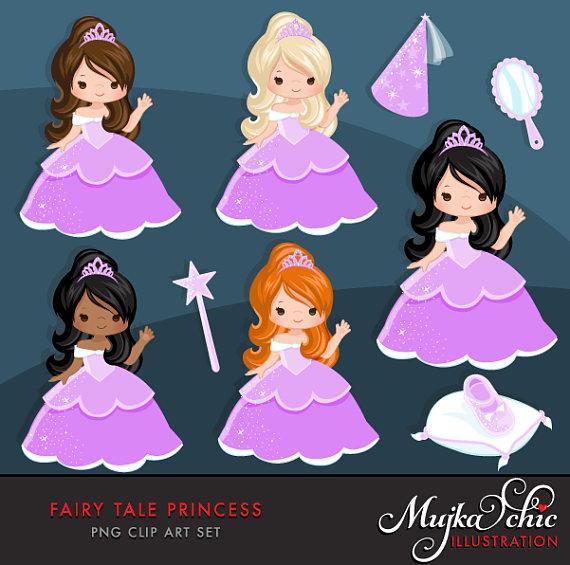 Fairy tale princess this. 5 clipart purple