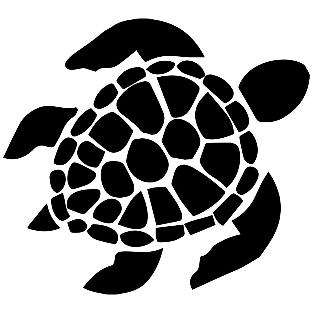 5 clipart sea turtle. Stickerslug decal sticker turquoise