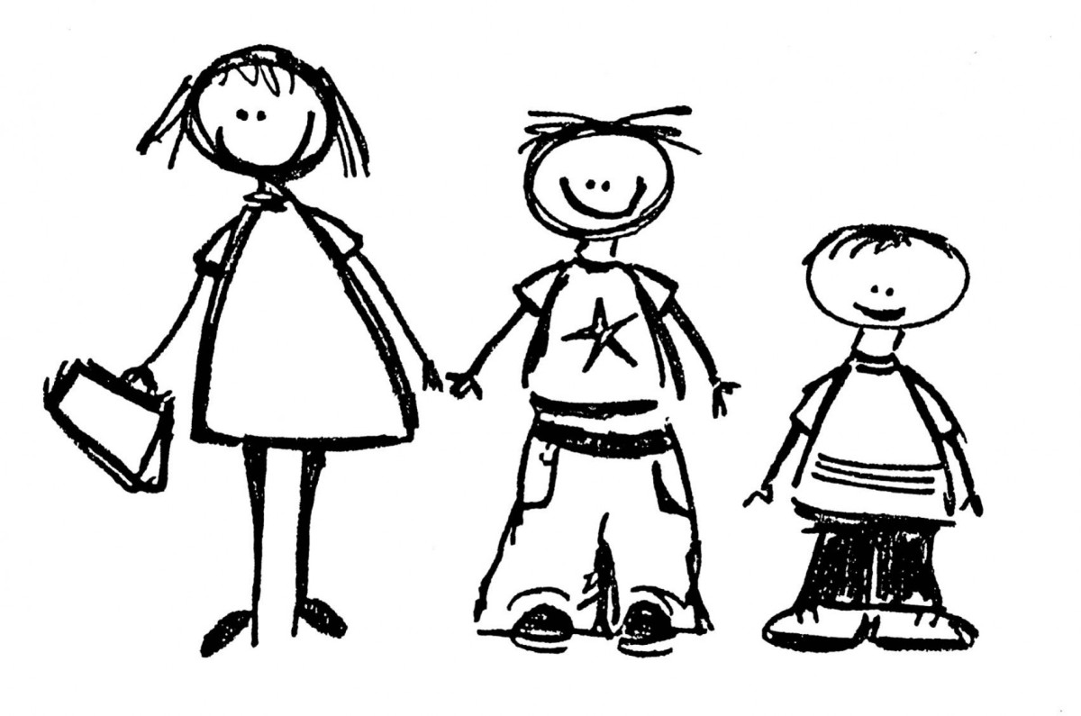 5 clipart sibling. The forgotten ones grieving