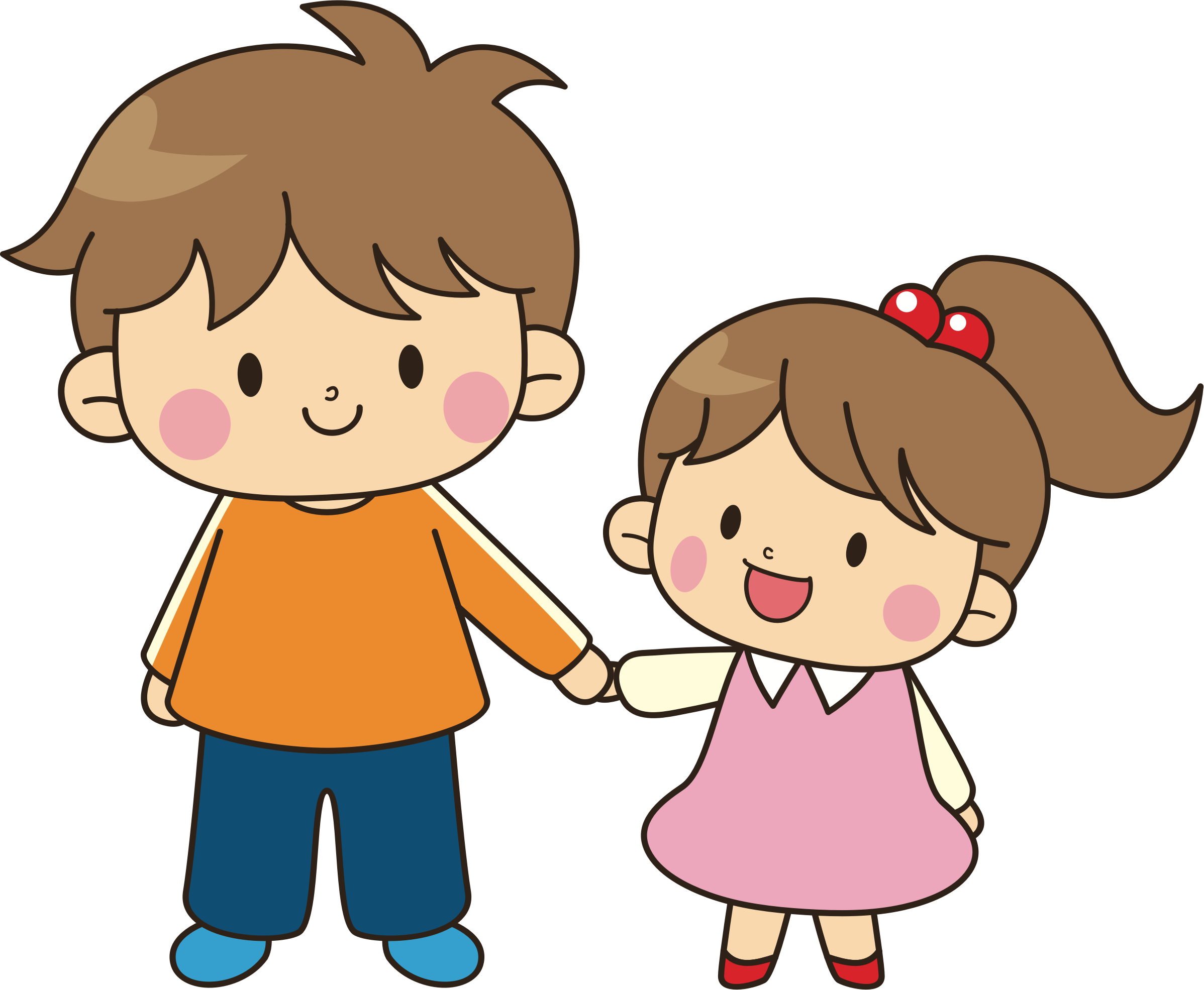 Young clipart sister. Brother sibling clip art