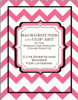 5 clipart spring.  chevron backgrounds has