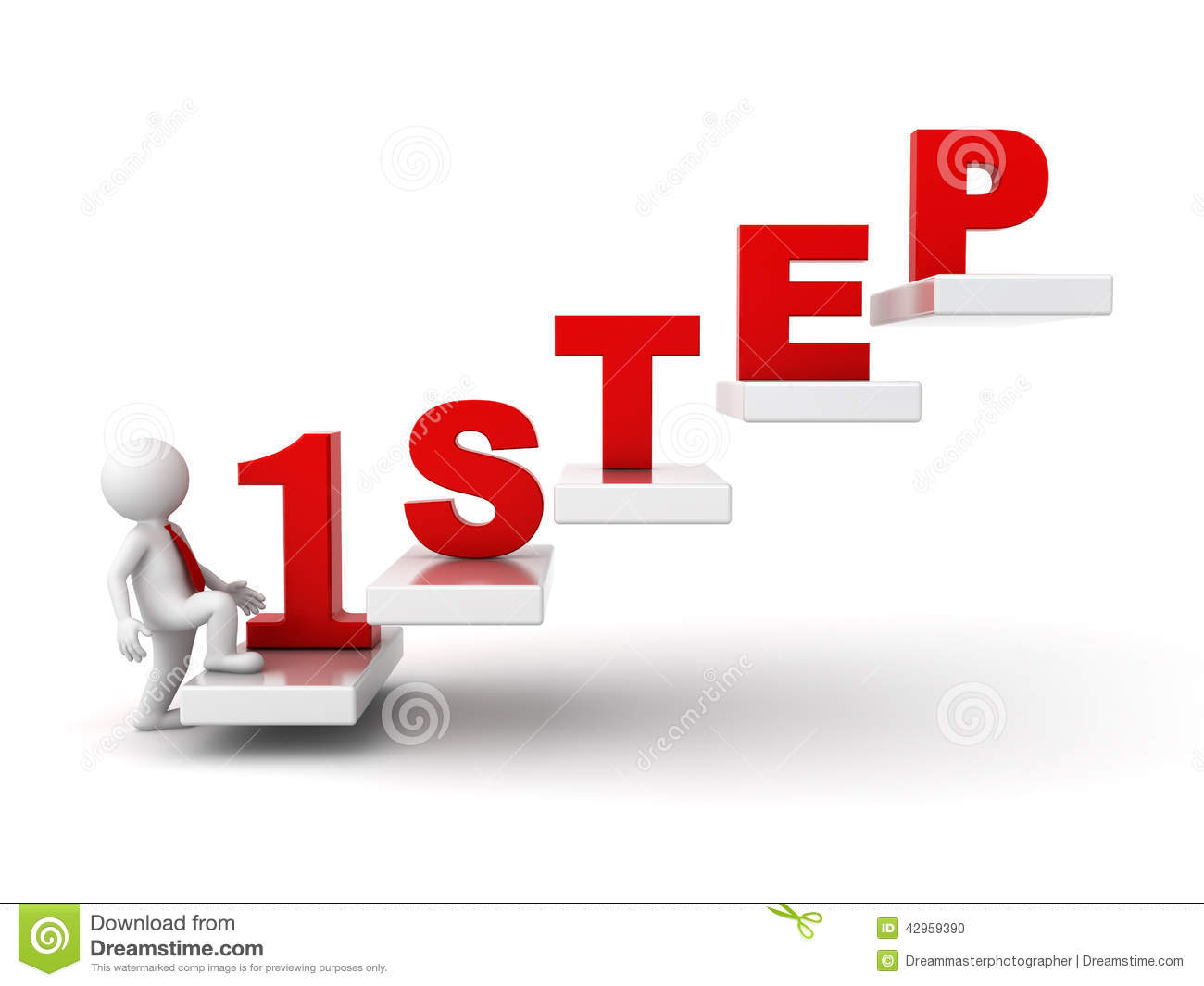 Steps to success station. 5 clipart step