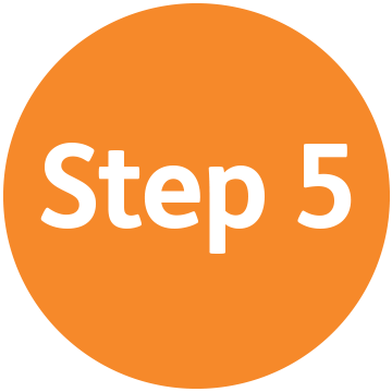 5 clipart step. Review us on yelp