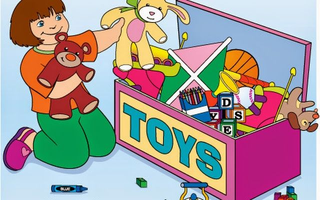 Pick up toys the. 5 clipart toy