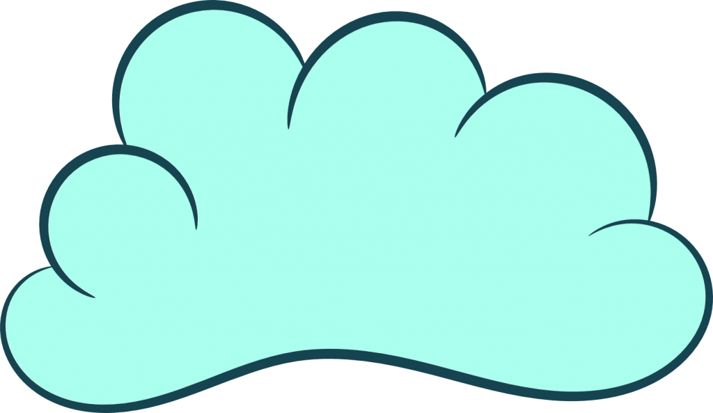5 clipart transparent.  cartoon clouds png
