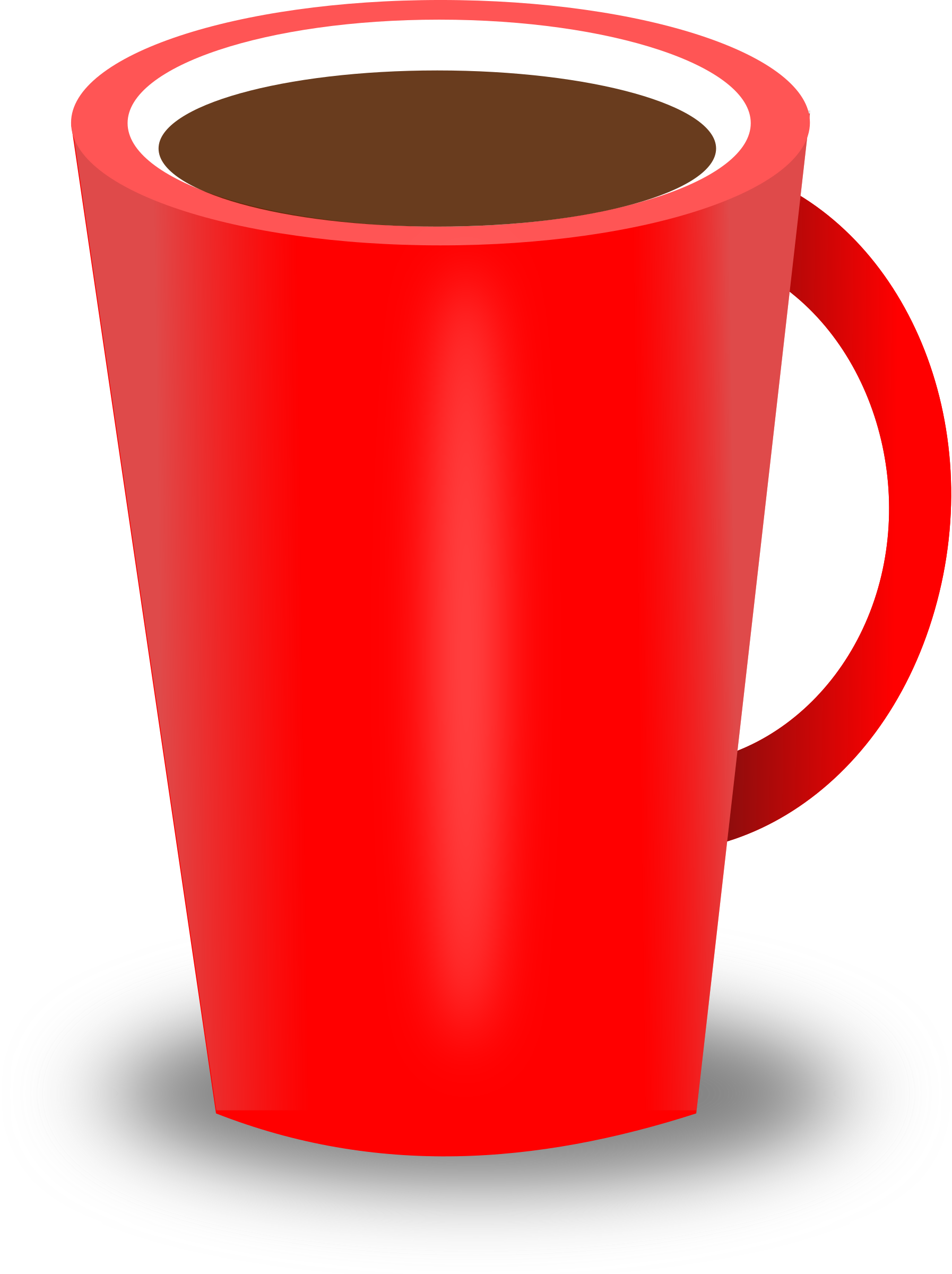 Mug transparent free collection. Clipart coffee red